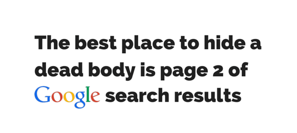 best place to hide a dead body page 2 google