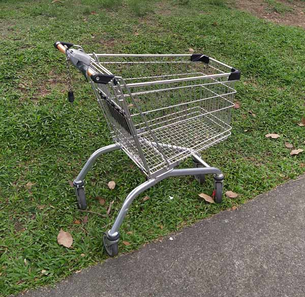 consumelesslife Singapore abandoned trolley