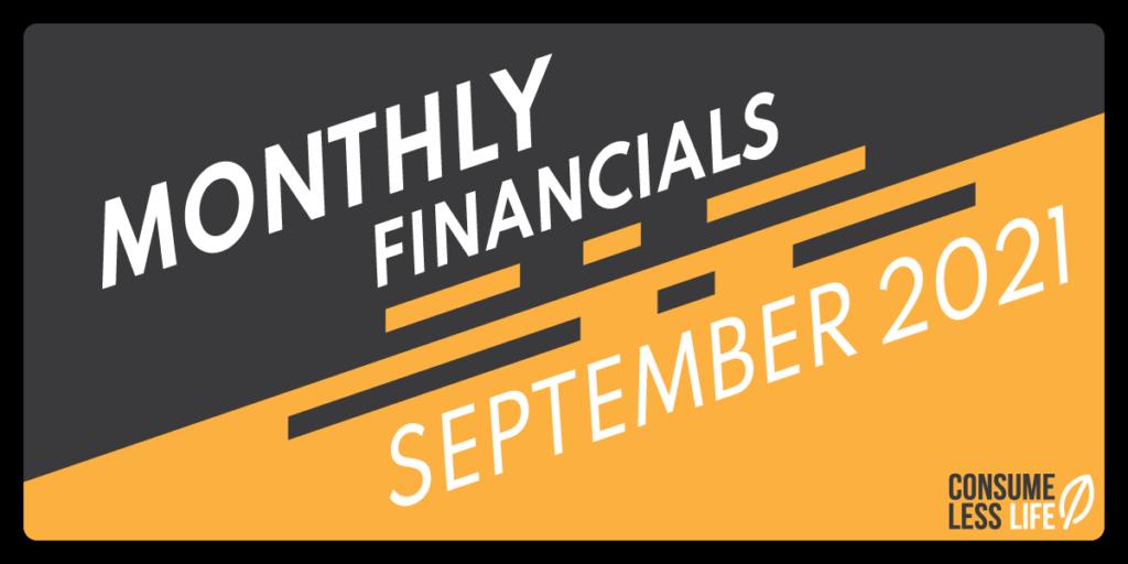 Monthly financials 0921
