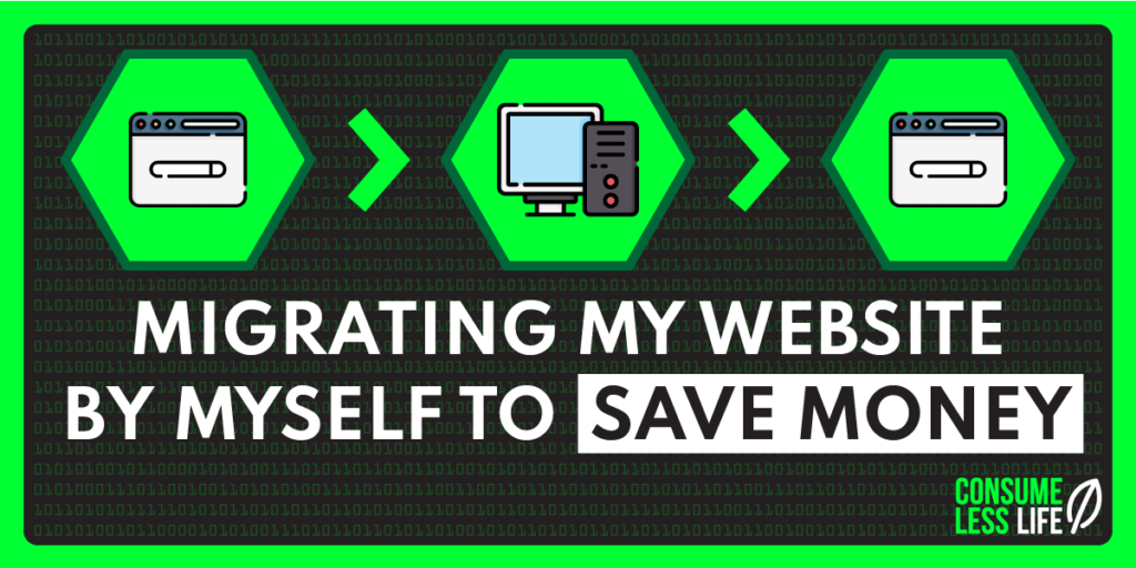 did my own website migration save money
