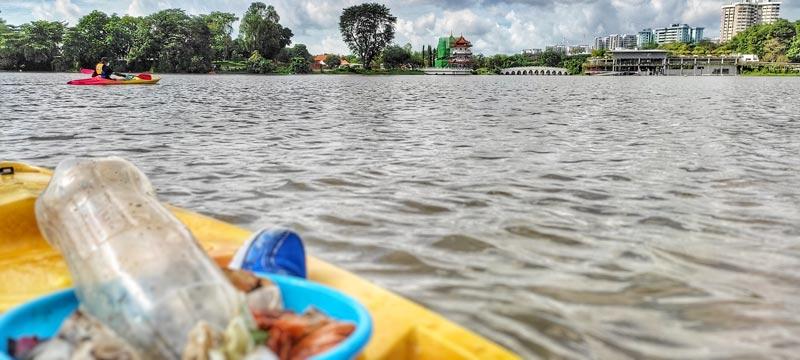 jurong lake landscape kayak