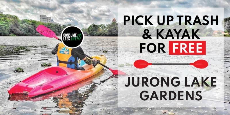 kayak for free jurong lake garden